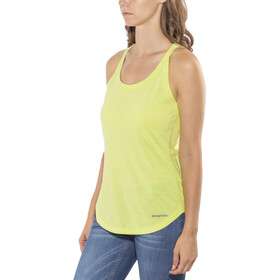 Patagonia Nine Trails Tank Dame celery green